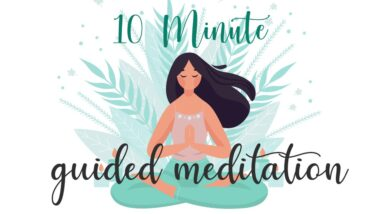 10 Minute Meditation for Anxiety (Guided Meditation)