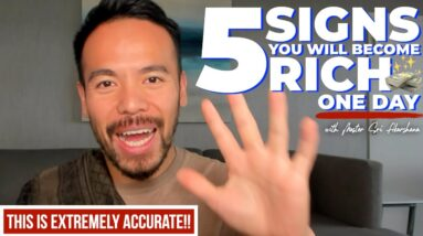 5 Signs You Will Become Rich One Day