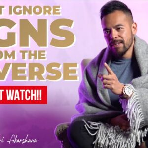 Don't Ignore Signs from The Universe | Achieve Your Divine Calling [Just Do This!]
