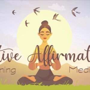 Morning Positive Affirmations ~ A 10 minute guided meditation