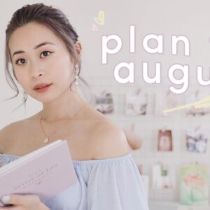 Plan With Me: August 2020 + life update