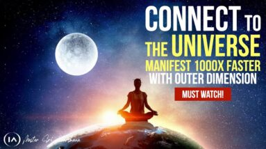 We Can Manifest 1000x Faster When We Connect and Speak to The Universe | Multi Dimensional Beings