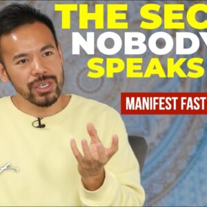 Manifest FAST by FASTING | The Secret that Nobody Speaks About! [Law of Attraction]