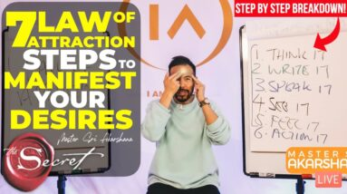 7 Steps to Manifest Your Desires Using Law of Attraction [FULL BREAKDOWN!]