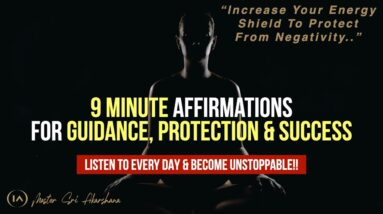 I Am Creator Affirmations for Guidance & Protection | Listen to Become Unstoppable! [Try This Now!!]