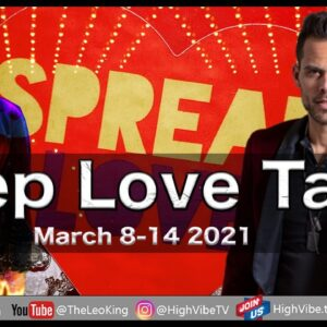 Deep Love Tarot Weekly Astrology Romance March 8-14 2021:New Moon Pisces, Dream Love or Horror Story