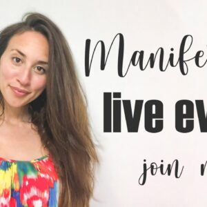 Join me as we explore Manifesting a life you love, this is  a Free Live Online Workshop