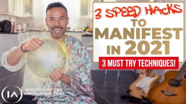 3 Unusual LOA Practices That Will SPEED UP Your Manifestations in 2021