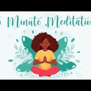 5 Minute Meditation for Morning Anxiety