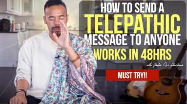 100% TELEPATHY ✅ Send A TELEPATHIC MESSAGE To Anyone and Get Proof in 48 Hours [Law of Attraction]