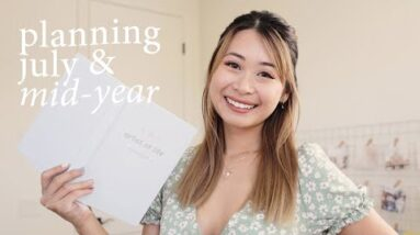 Plan With Me: July + 2021 Mid-Year Review