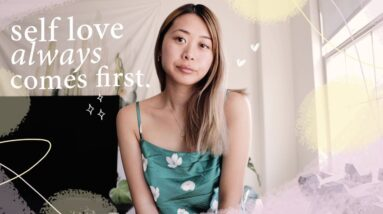 self love when you're feeling down | day in the life vlog
