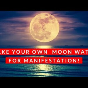 Make your own MOON WATER for manifestation ♥️