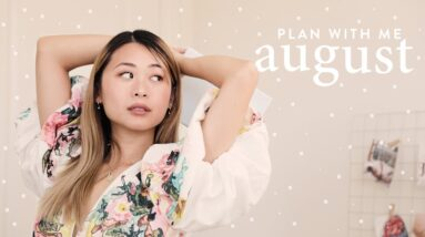 Plan With Me: August 2021 (exciting life update!)