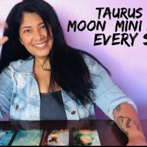 Taurus New Moon (time stamped)