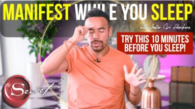 10 Minutes Before You Sleep ALL PRAYERS WILL BE ANSWERED | Law of Attraction Secrets