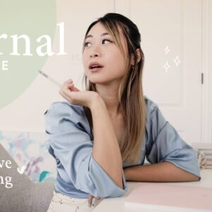 Journaling for Beginners: Interactive Journal With Me (3 prompts, 5 min each)