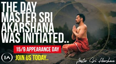 The Journey to Mastery: Celebrating Master Sri Akarshana's Appearance Day [Claim Your Space NOW!]