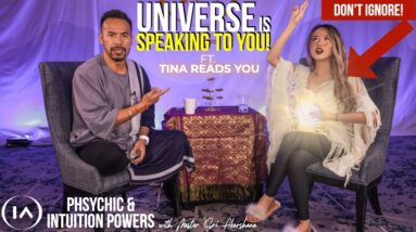 How to Become Psychic & Develop Your Intuition | Universe in Speaking to You.. [Ft. Tina Reads You]