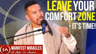 Growth Happens Out Of Your Comfort Zone | Your Time Is Now!! [Manifesting Miracles]