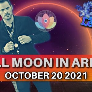The Leo King Full Moon In Aries Astrology/Tarot Horoscope October 20 2021 All Signs Collective
